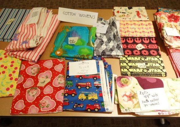 Fabric swap - cotton wovens