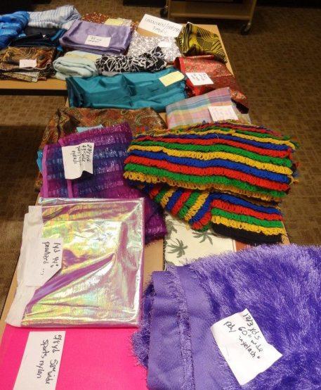 Fabric swap - mystery fabric corner