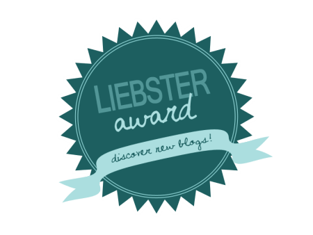 A Liebster Award Nomination!