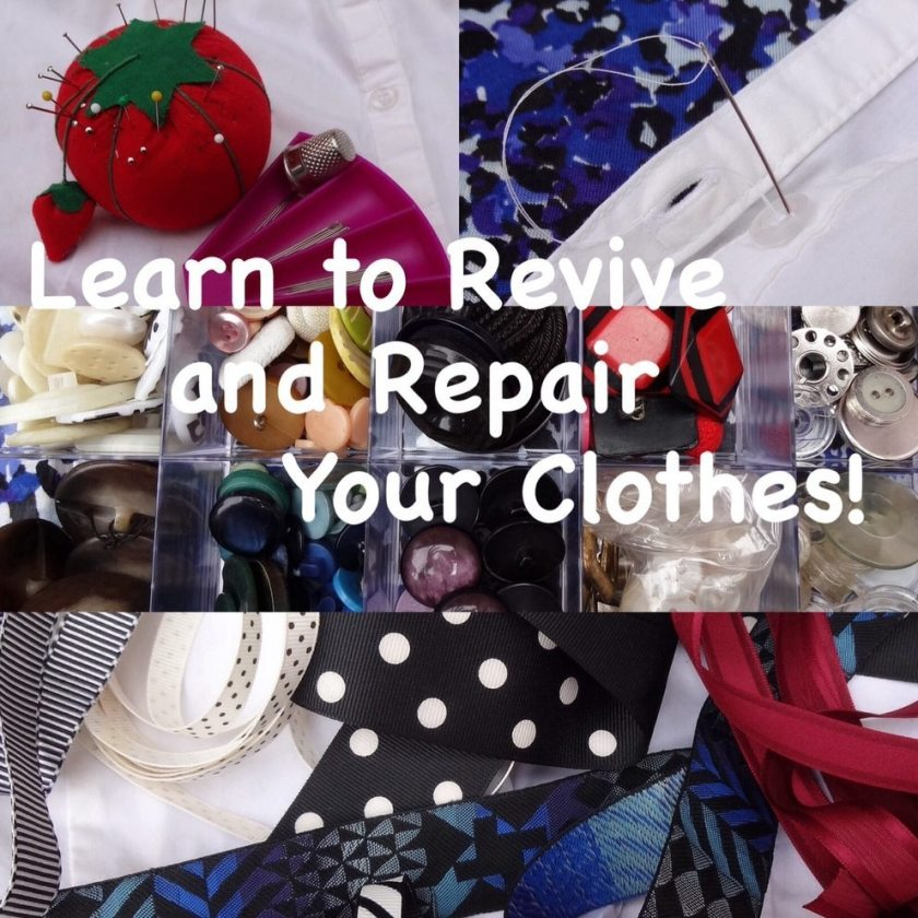 Learn to revive and repair your clothes at Makeshift Society