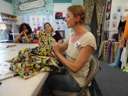 Bay Area Sewists - August 2014 meetup
