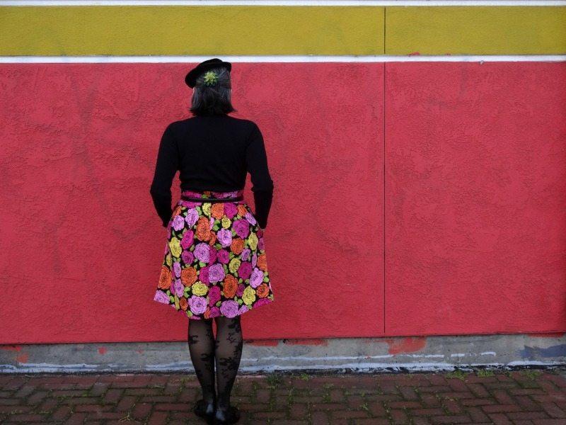 Chardon skirt - back view - csews.com