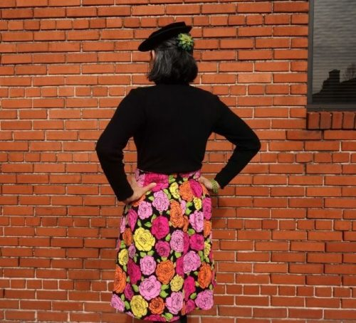 Chardon skirt - back view - csews.com