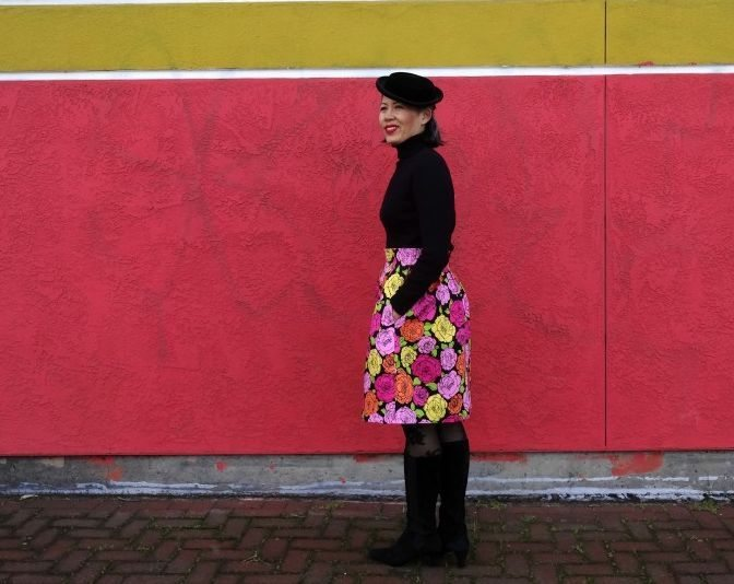 Chardon skirt - side view - csews.com