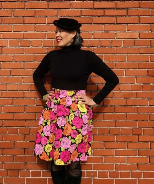 Chardon skirt - front - csews.com