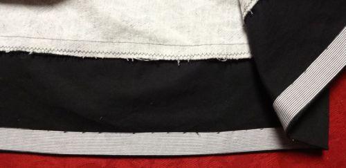 Chardon skirt - bias tape hem - csews.com
