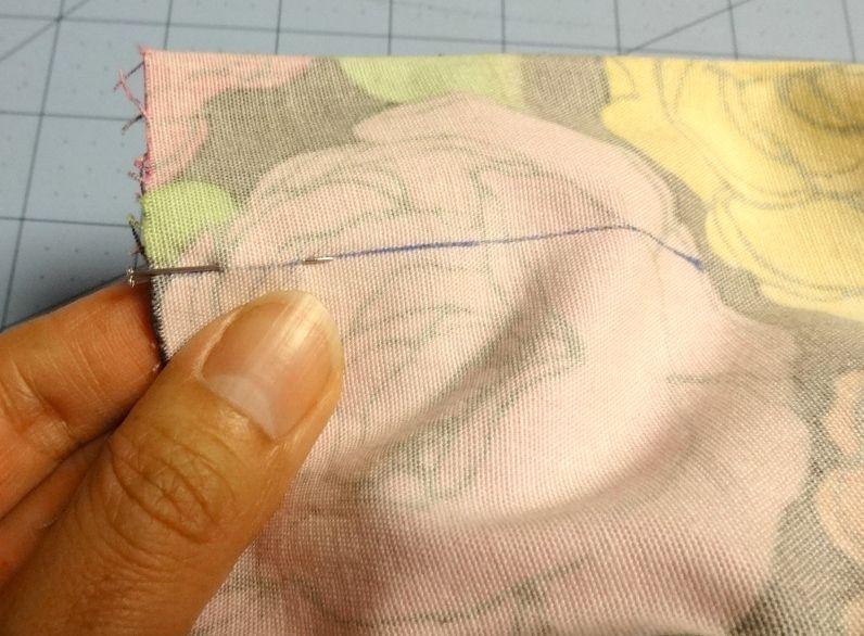 Line up pleats on Chardon skirt - csews.com