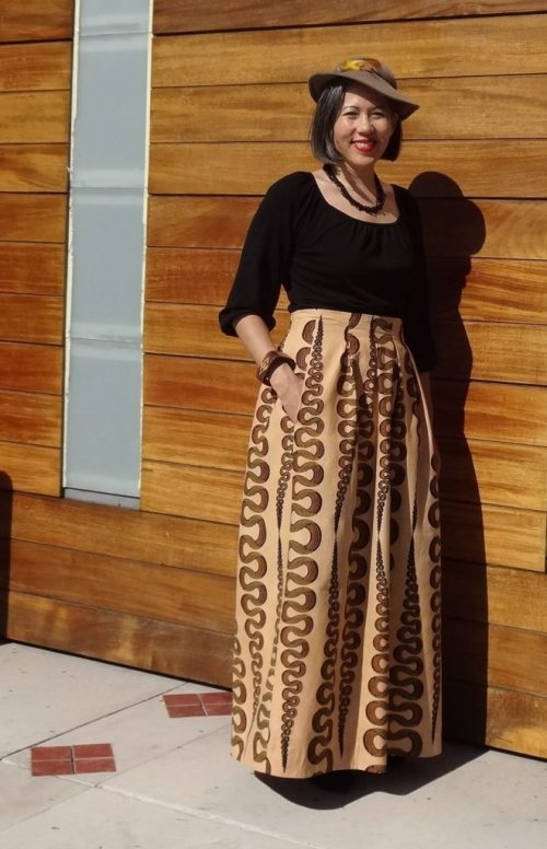 Chardon maxi skirt - Deer and Doe - pocket - csews.com