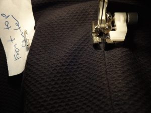 Stitch in the ditch foot - top stitching - csews.com