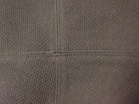 Top stitching detail - csews.com