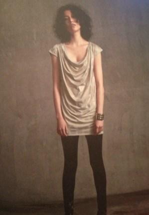 Draped Mini Dress - She Wears the Pants - csews.com