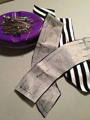 Pattern pieces cut - She Wears the Pants - csews.com