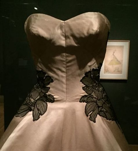 Charles James - clover leaf gown - Brooklyn Museum Costume Collection- csews.com