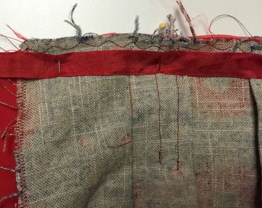 Chardon waist - linen fabric - csews.com