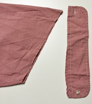 Stylish Remakes - shirt cuff - csews.com