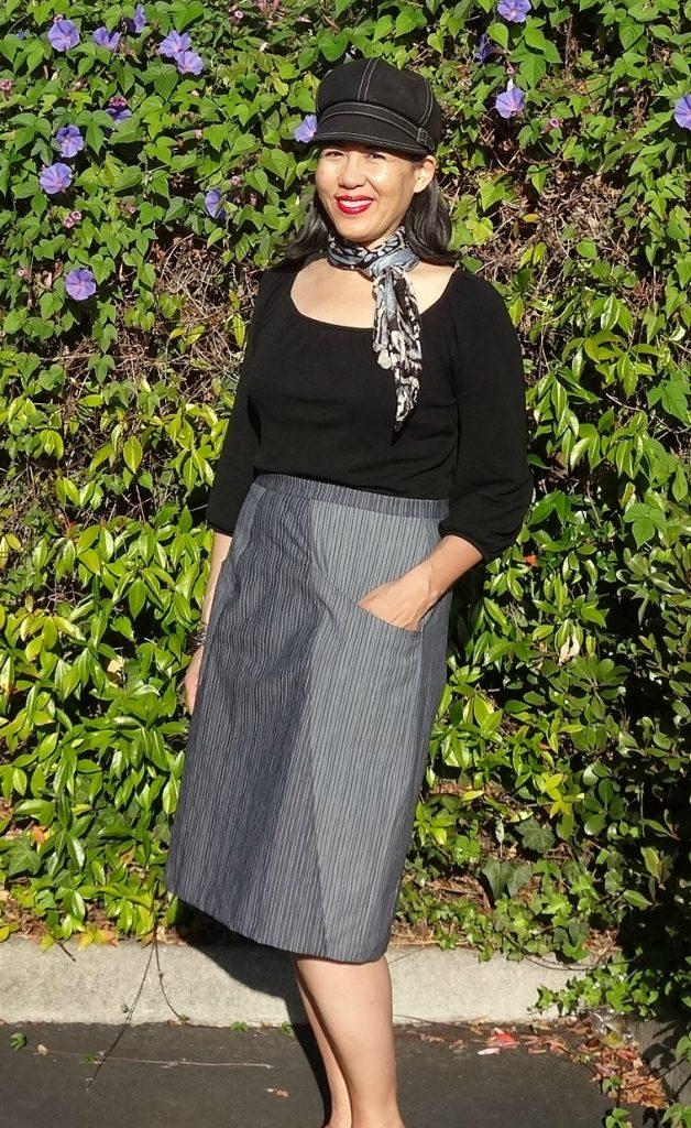 A-Frame Skirt - Blueprints for Sewing - pencil skirt - csews.com