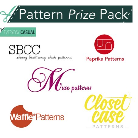 Everyday Casual Sewalong Pattern Prize Pack - csews.com