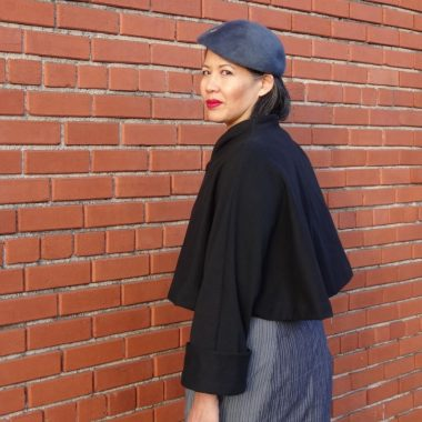 V2934 - left view - vintage Vogue 1950 reissue - csews.com