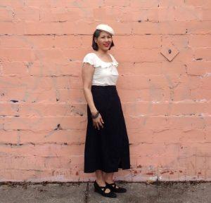 Nita Wrap Skirt - Sew DIY pattern - csews.com