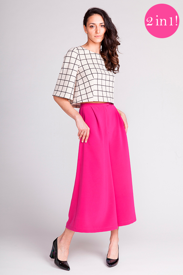 Named - Lexi A-line top and Mimosa Culottes