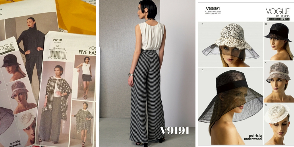 Vogue Patterns I bought