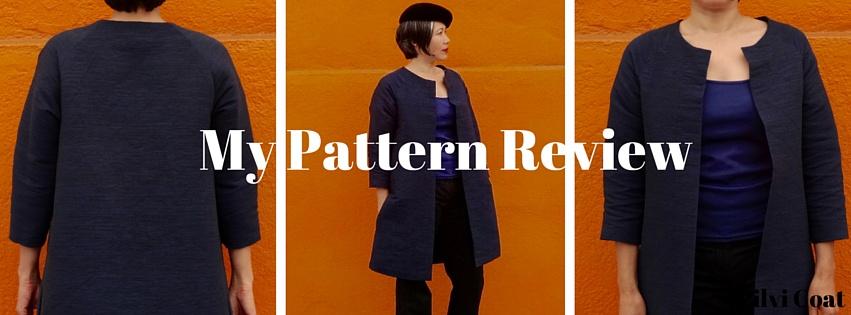 Pilvi Coat - Pattern Review - C Sews