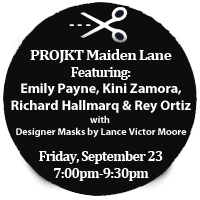 PROJKT Maiden Lane - Britex Fabrics fall fashion show - San Francisco, Sept. 23, 7 pm to 9 pm