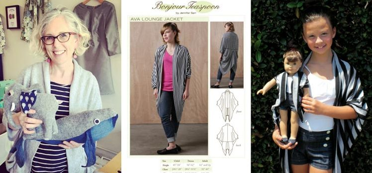 Jennifer Serr – an interview with The Sewing Room founder and Bonjour Teaspoon designer