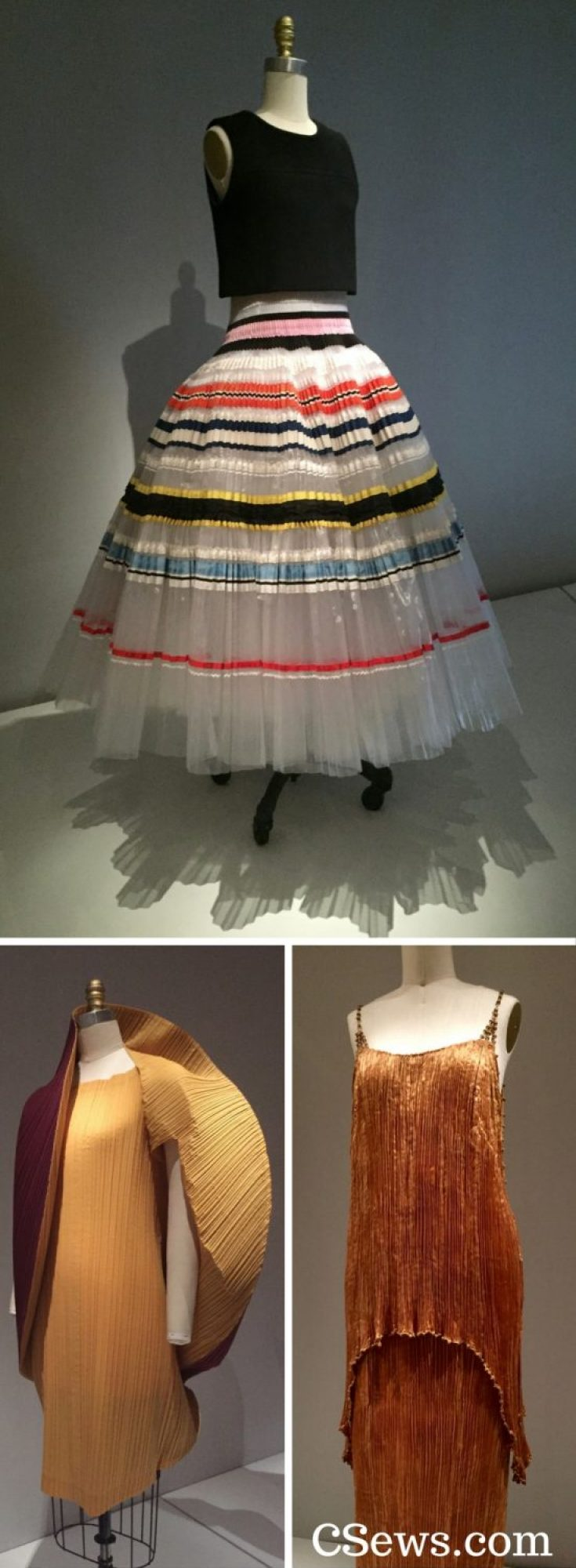 Manus x Machina - pleated garments - House of Dior, Issey Miyake and Fortuny - pleats