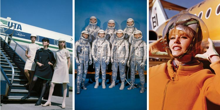 Fashion in Flight - airline uniforms and astronauts