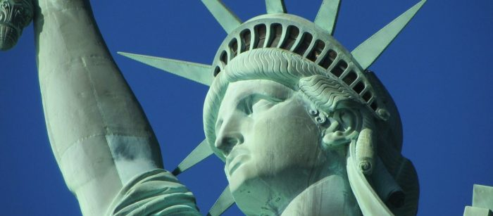 The Statue of Liberty is America