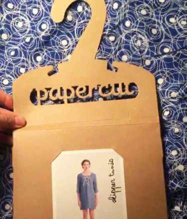 Papercut Patterns packaging