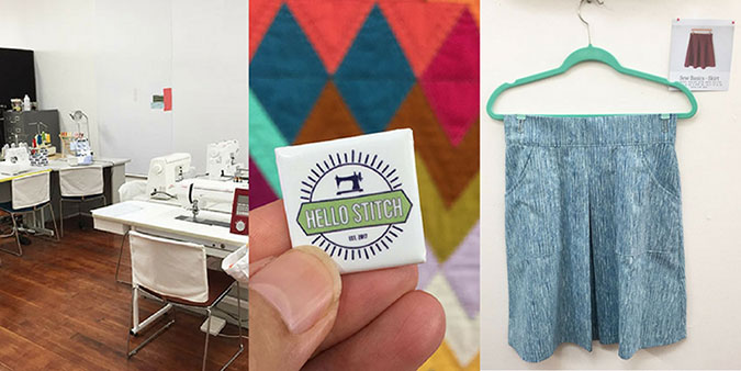 Hello Stitch – a new sewing studio