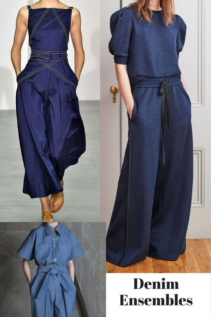Denim fashion - Adam Lippes, Jasper Conran , Vika Gazinskaya