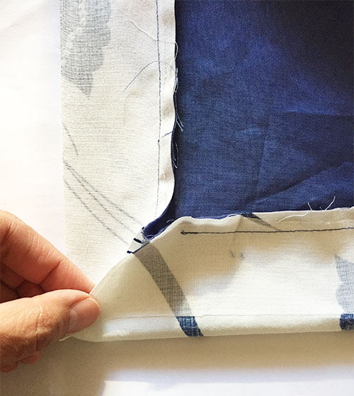 Sapporo Coat - inside corner - C Sews