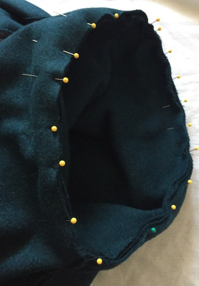 Sapporo Coat - cuff pinned - CSews