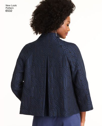 Fall sewing pattern - New Look 6532 - jacket
