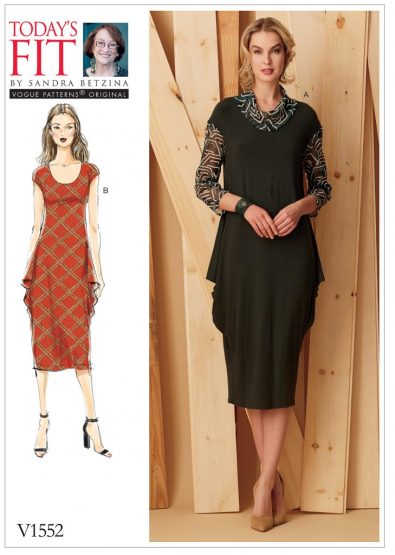 Fall sewing pattern - Todays Fit by Sandra Betzina - V1552