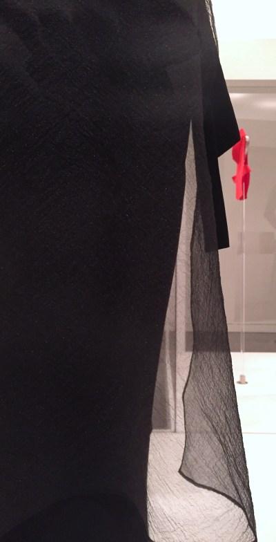 Jung Misun dress detail - Couture Korea exhibit at Asian Art Museum