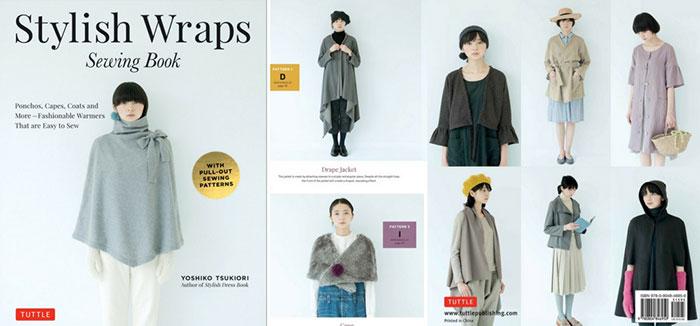 Stylish Wraps by Yoshiko Tsukiori – book review and giveaway