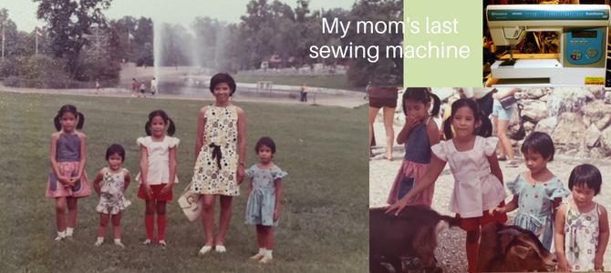 My mom's last sewing machine – a Scandinavia 200