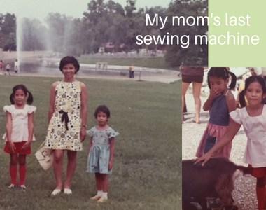 Husqvarna Viking Scandinavia 200 - my mom's last sewing machine