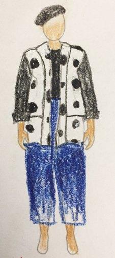 Oversized Kimono Jacket by Jenny Gordon pattern - fabric ideas - CSews.com