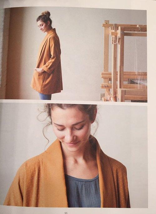 Oversized Kimono Jacket by Jenny Gordon in Making Magazine, Issue 4