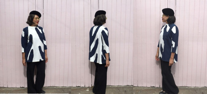 Toaster Sweater 2 – big print ponte fabric
