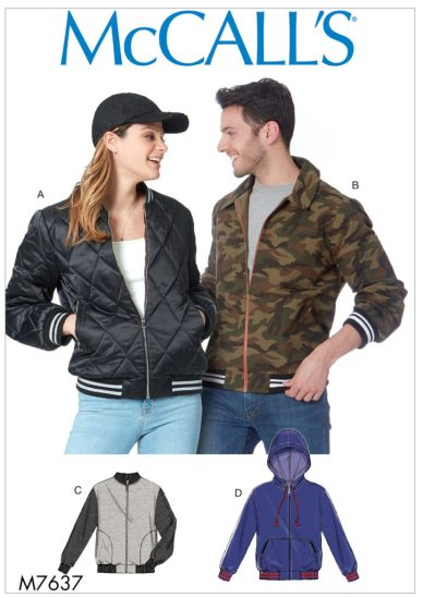 McCall's bomber jacket M7637 - CSews