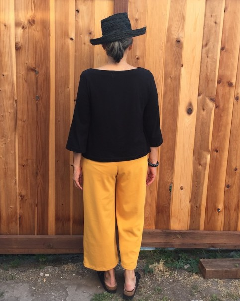 Joan Trousers by The Friday Pattern Company - back view
