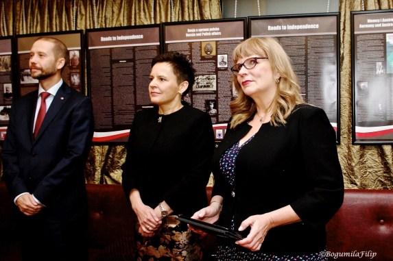 Wystawa - ambasador Konsul Posel Gosiewska