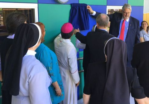 627official opening and blessing