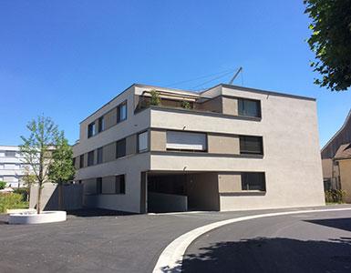 Ueberbauung Taunerquartier Reinach - Bautreuhand
